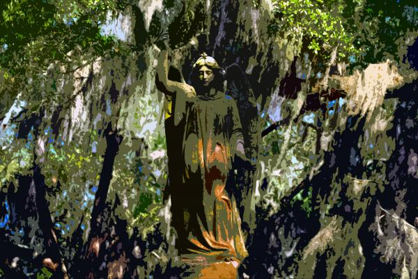 Angel Of Savannah Print by David Lee Thompson