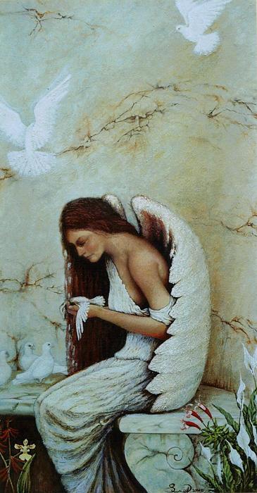 Angel Print by Steven Wood