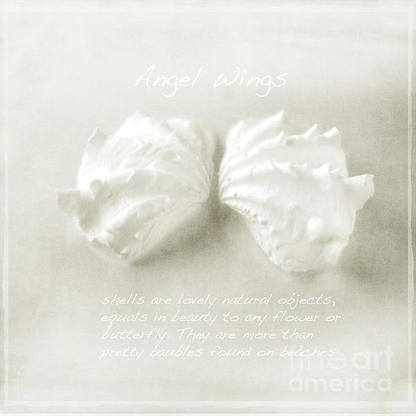Angel Wings Print by Linde Townsend