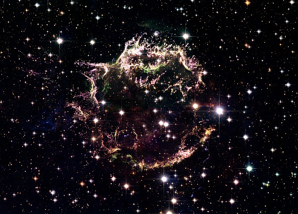 Animation Of A Supernova Explosion Print by Harvey Richer