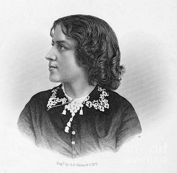 Anna Elizabeth Dickinson Print by Granger
