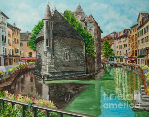 Charlotte Blanchard - Annecy-The Venice Of France