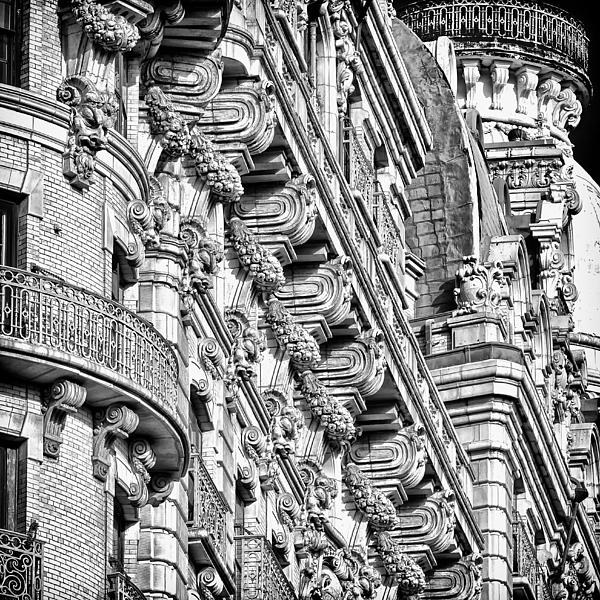 Ansonia Building Detail 10 Print by Val Black Russian Tourchin