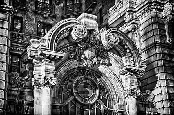 Ansonia Building Detail 2 Print by Val Black Russian Tourchin