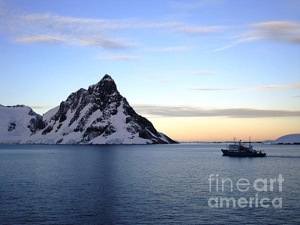 Antarctica Print by Karen Kean