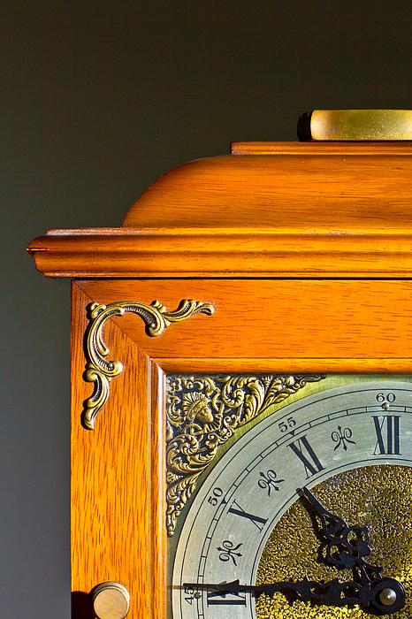 Antique Clock  Print by Ken Hunter
