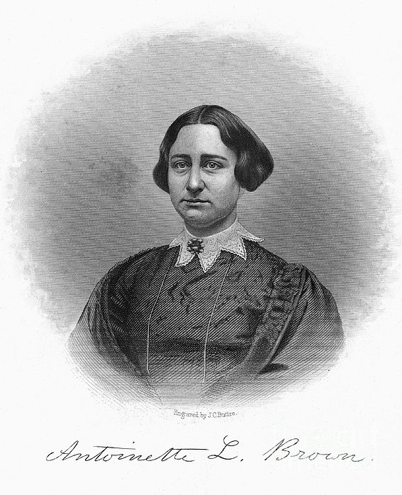 Antoinette Brown Blackwell Print by Granger
