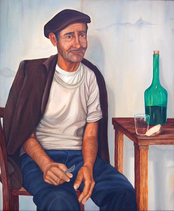 Antonio Print by AnnaJo Vahle