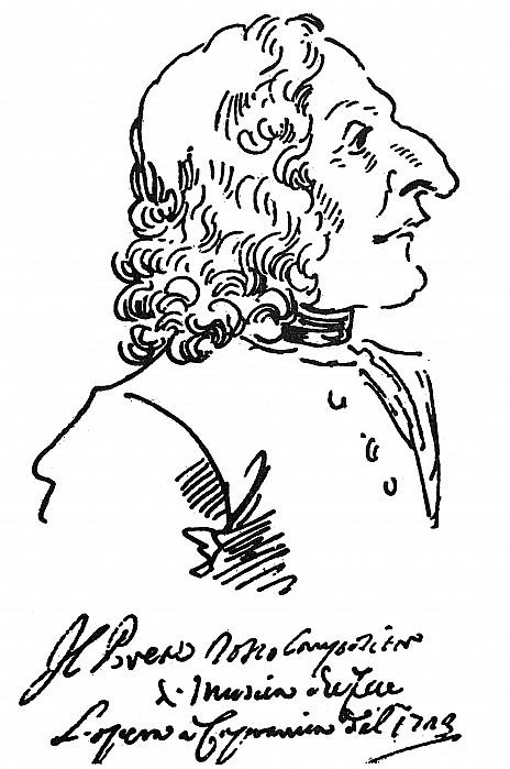 Antonio Vivaldi (c1675-1741) Print by Granger