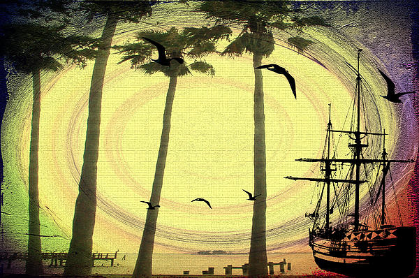 Any Port In A Storm Print by Bill Cannon