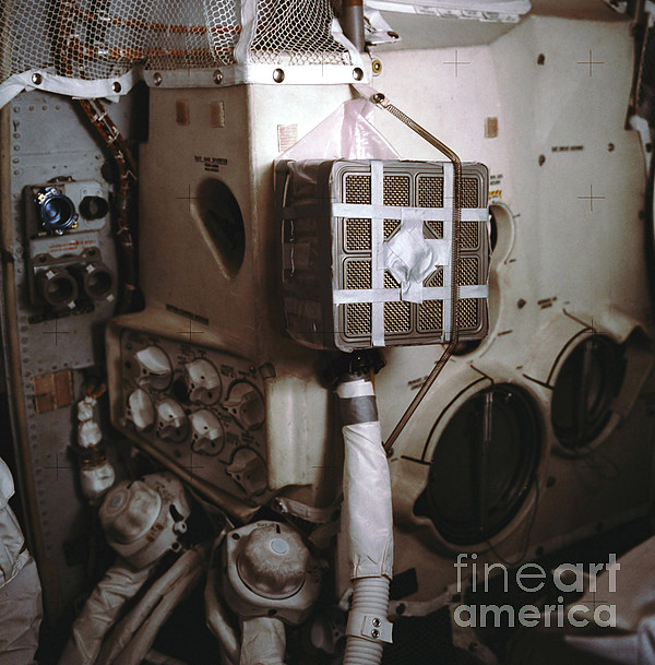 Apollo 13s Mailbox Print by Nasa