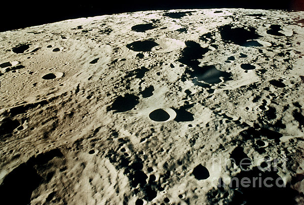 Apollo 15: Moon, 1971 Print by Granger
