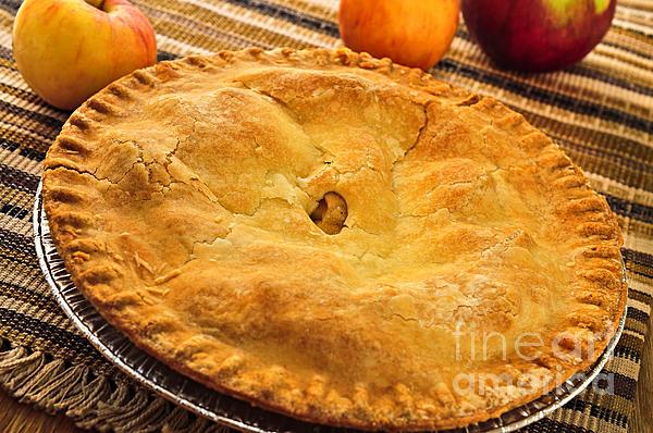 Apple Pie Print by Elena Elisseeva