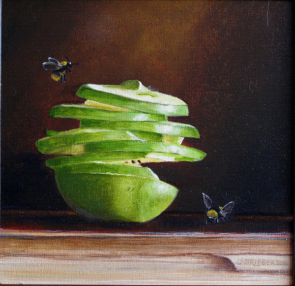Jan Brieger-Scranton - Apple with Bees