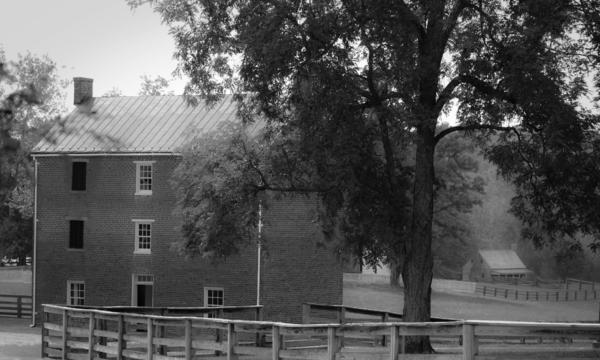 Appomatttox County Jail Virginia Print by Teresa Mucha