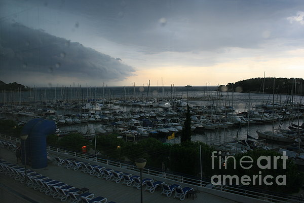 Approaching Storm Print by Andy  Mercer