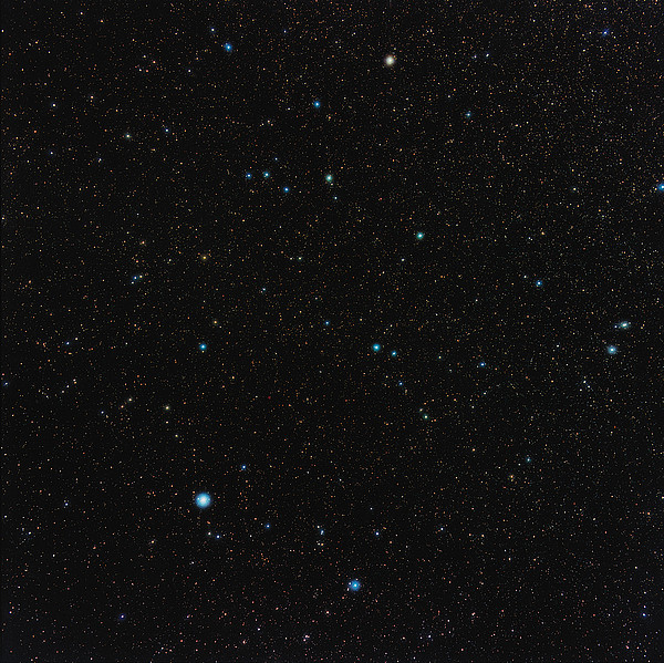 Aquarius Constellation Print by Eckhard Slawik
