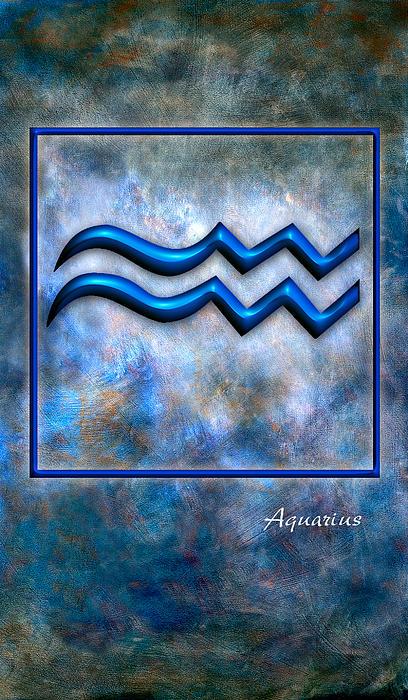 Aquarius  Print by Mauro Celotti