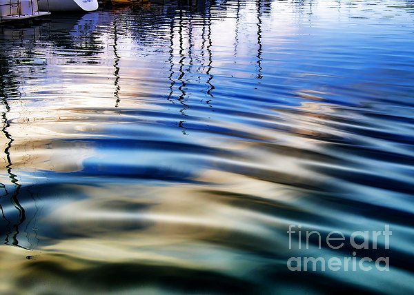 Aquatic Reflections Print by Mariola Bitner