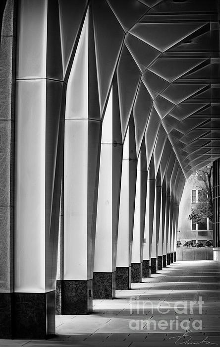 Arched Passageway Print by Danuta Bennett