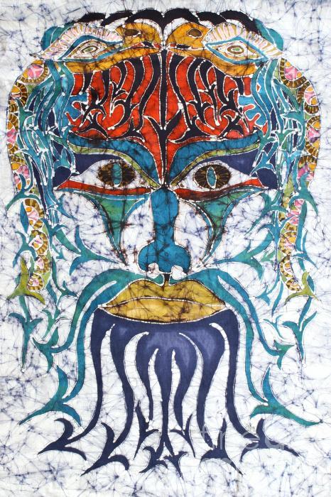 Archetypal Mask Print by Carol  Law Conklin