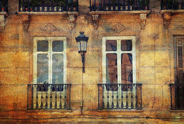 Jenny Rainbow - Architectural Details of Malaga Buildings. Spain