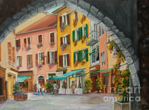 Charlotte Blanchard - Archway To Annecy