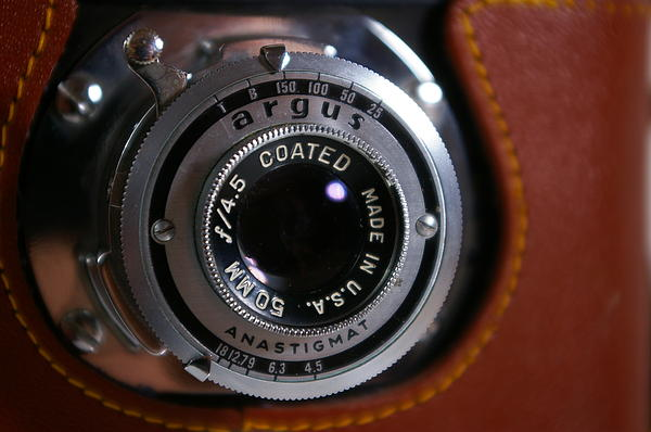 Kathy Hunt - Argus A2b Vintage 35mm Camera