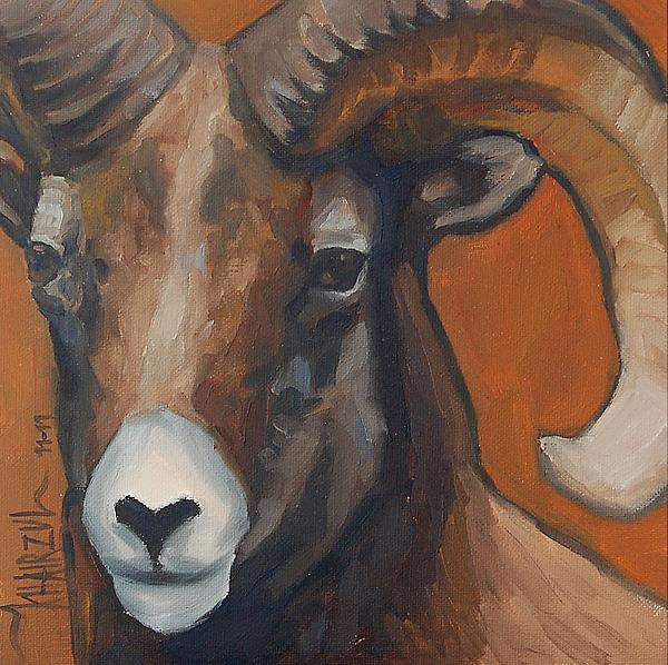 Aries - Ram Painting by Khairzul MG