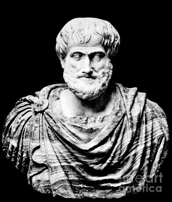 Aristotle, Ancient Greek Philosopher Print by Omikron