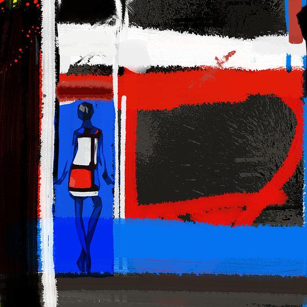 Art Scene Print by Naxart Studio