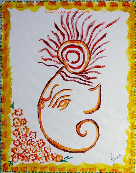 Sonali Gangane - Artistic Lord Ganesha
