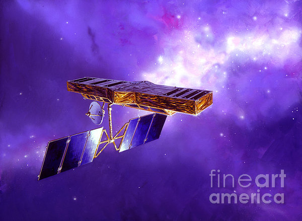 Artists Concept Of Space Interferometry Print by Stocktrek Images