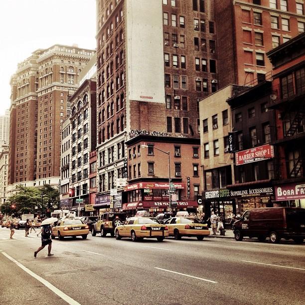 Vivienne Gucwa - As the Rain Falls - New York City