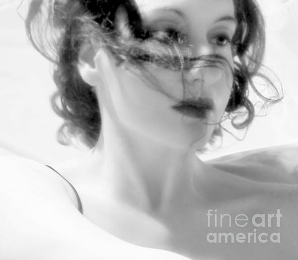 Ascension - Self Portrait Print by Jaeda DeWalt