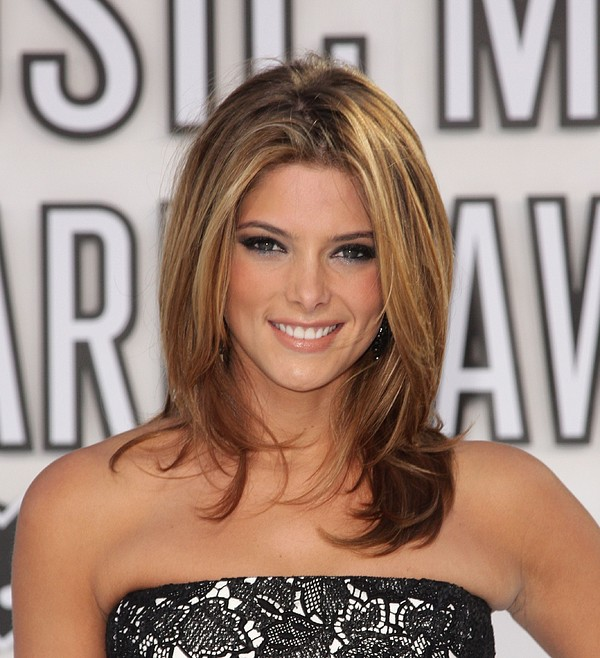 Ashley Greene At Arrivals For 2010 Mtv Print by Everett
