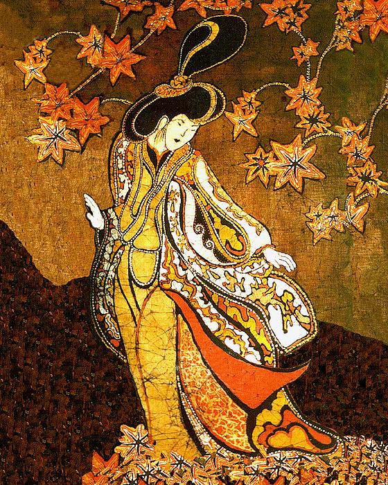 Asian Woman Print by Alexandra  Sanders
