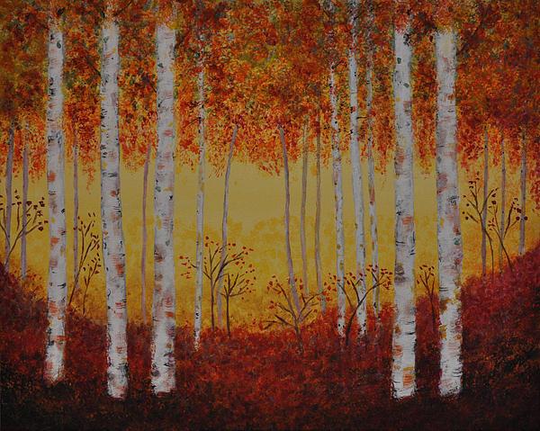Crystal Johnson - Aspen Trees - Kaleidoscope Forest