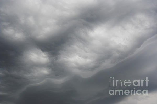 Asperatus - Sky Before Storm Print by Michal Boubin