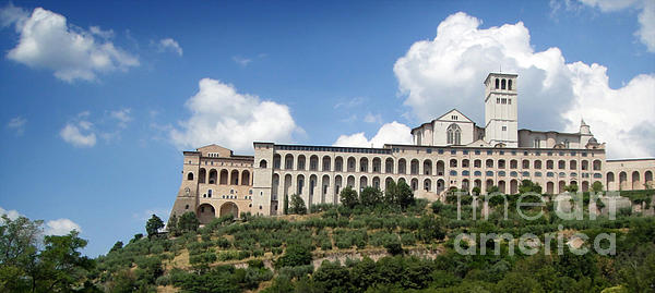 Assisi Italy -  Basilica Of San Francesco D'assisi - 02 Print by Gregory Dyer