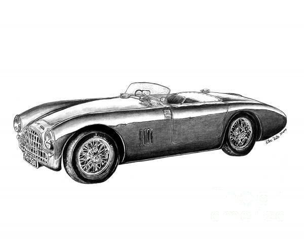 Aston Martin Db-5 Print by Peter Piatt