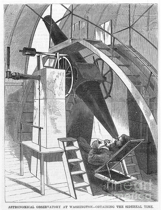 Astronomer, 1869 Print by Granger