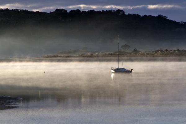 At Anchor Ngunguru River Tutukaka Coast New Zealand By