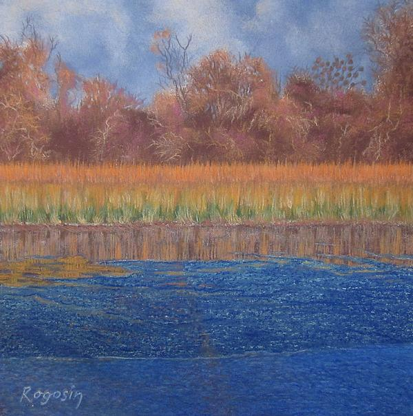 At The Waters Edge Pastel