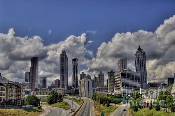 Atlanta Skyline Print by Corky Willis Atlanta Photography