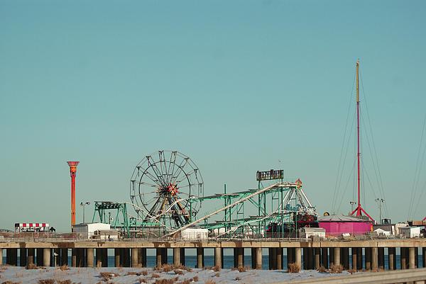 Atlantic City Steel Pier Amusements By Margie Avellino