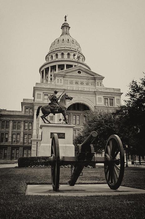 Austin Capitol Print by Lisa  Spencer