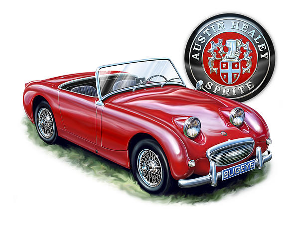 David Kyte - Austin Healey Bugeye Sprite Red