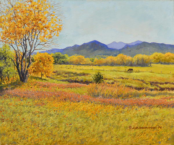 Autumn Afternoon Print by James Robert MacMillan
