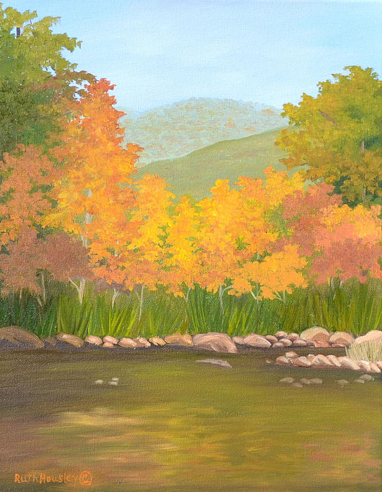 Ruth  Housley - Autumn at Lost Maples